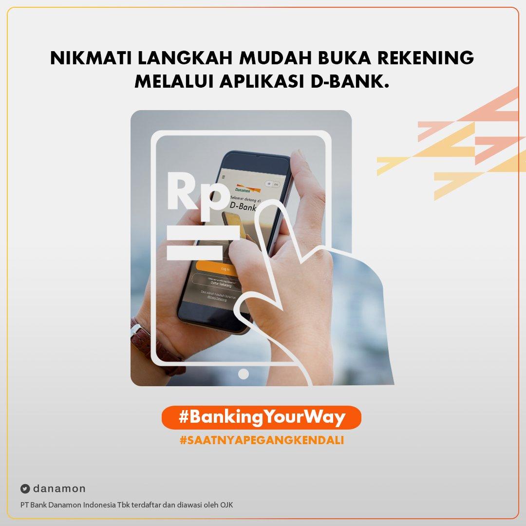 À¦Ÿ À¦‡à¦Ÿ À¦° Danamon Yeaay Finally Buka Rekening Kini Lebih Mudah Dan Bisa Dapat Promo Cashback Hingga E Voucher Belanja Bukalapak Jangan Lupa Masukkan Kode Referal Saat Isi Data Diri Ya Download Aplikasi D Bank Sekarang