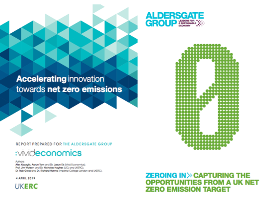 Businesses are positive about a UK #netzero emissions target but it must come with bold innovation support. Today we publish two new reports on how to accelerate this innovation & capture the economic growth opportunities. https://buff.ly/2OHJO5F  @VividEconomics @UKERCHQ
