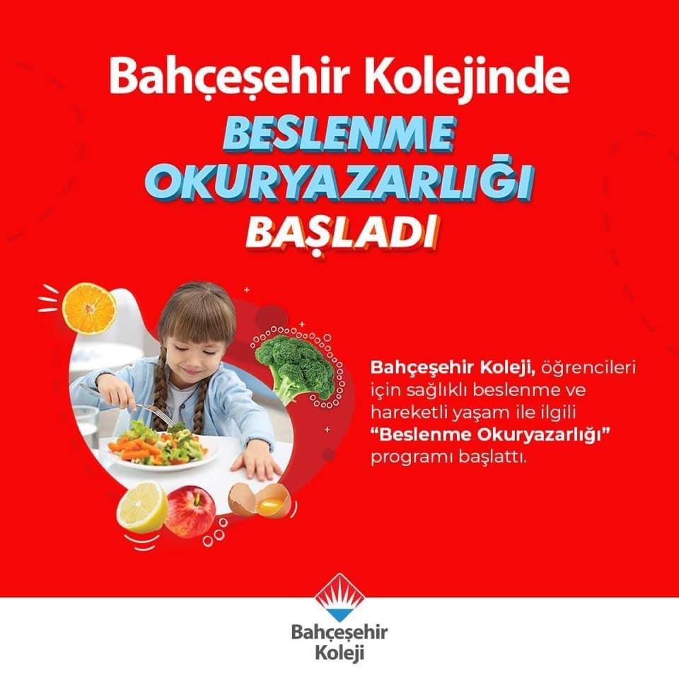 Bahçeşehir Kolejinde ''Beslenme Okuryazarlığı'' başladı! 🤩🥦🍊🍎🥗 #bahçeşehirkoleji #beslenmeokuryazarlığı 👩🏻🍳👨🍳