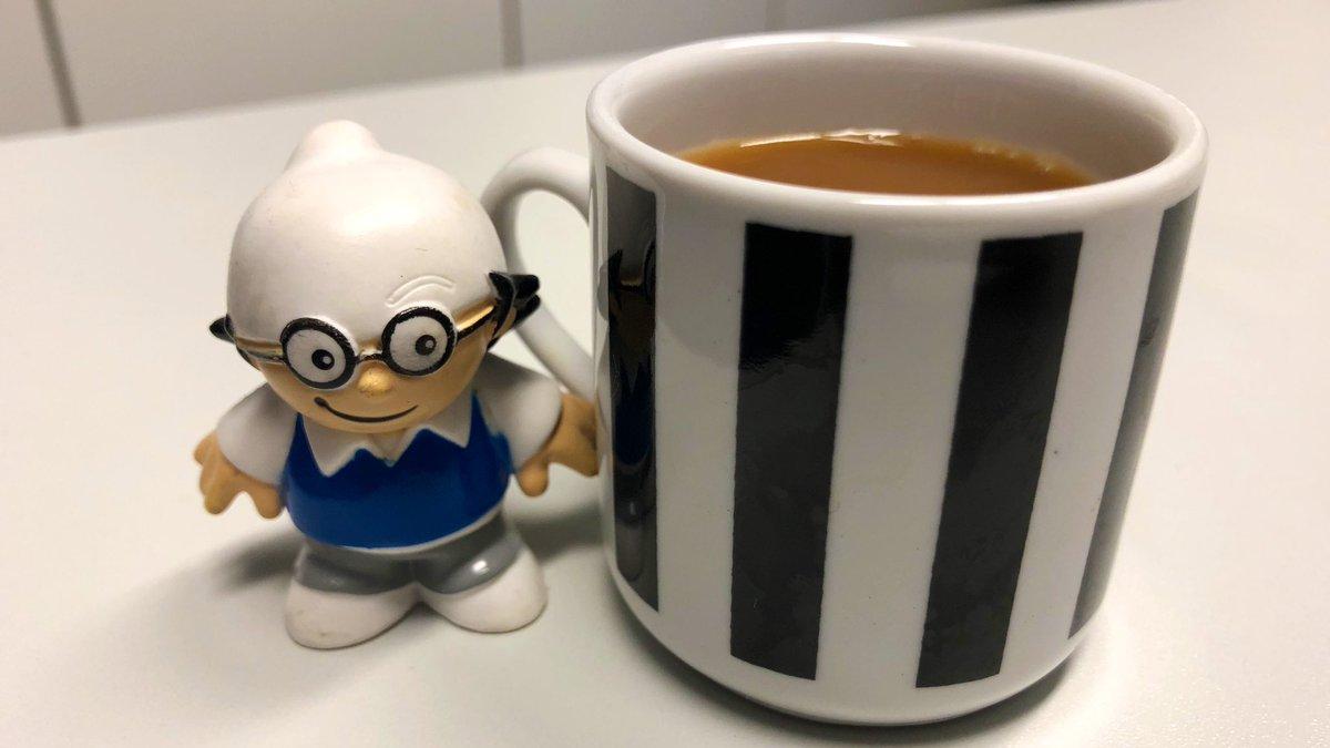 guten morgen erstmal kaffee
