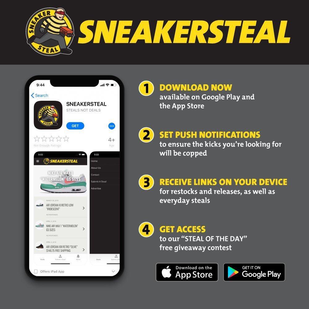 c7a565b93 Sneaker Steal ( sneakersteal)