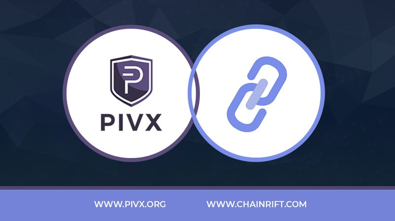 PIVX has been listed on a new US based exchange @ChainRift   You can trade $PIVX on the BTC market now with USDT market to follow soon.  #crypto #cryptonews #pivx #newlisting #DYOR