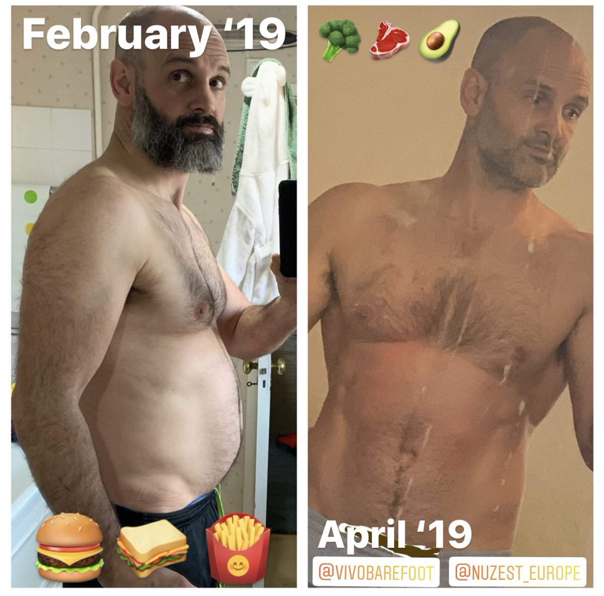 For those on the streets long term poor nutrition is not helping with mental health problems at all. It's taken me two months to get back into half-decent shape - in body &amp; in mind.  #60daysonthestreets @Channel4 @DiscoveryUK @Nuzest_EU @athleatUK @VIVOBAREFOOT @LandRover<br>http://pic.twitter.com/9UAVXTMJdf