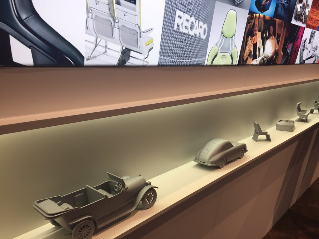 Also at @recaro_de stand at #AIX19, a visual recollection of the +110yrs of the firm, which went from creating first convertible car to advanced aircraft seats https://t.co/T7c858ThcL