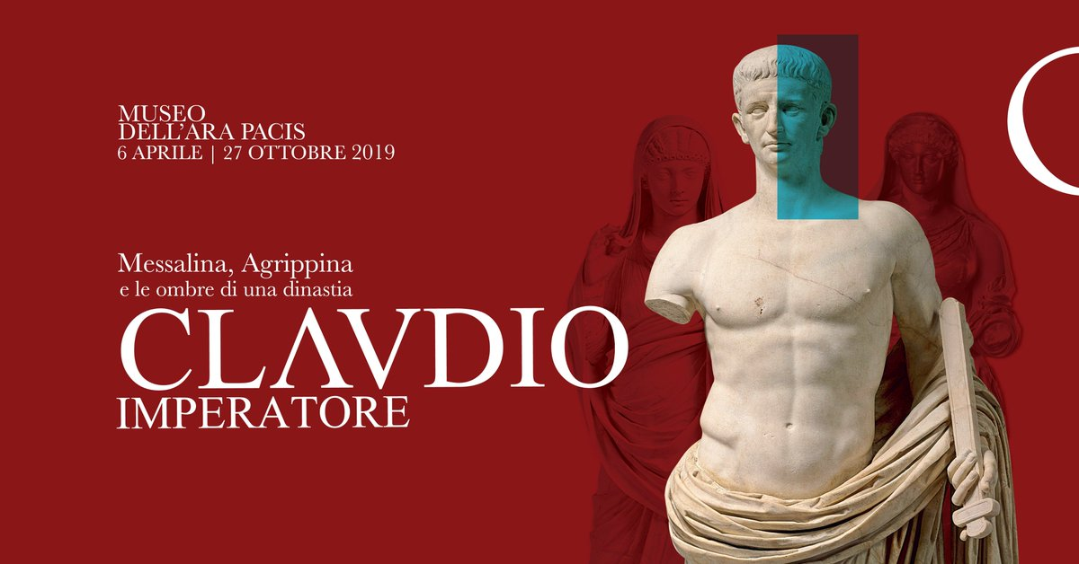 The Emperor #Claudius: Messalina, Agrippina and the shadows of a dynasty: a major exhibition (opening on #6April at the #AraPacis Museum) will allow visitors to explore the life and reign of one of Rome's most controversial emperors: http://www.arapacis.it/it/mostra-evento/claudio-imperatore…pic.twitter.com/QnebIVYcwq