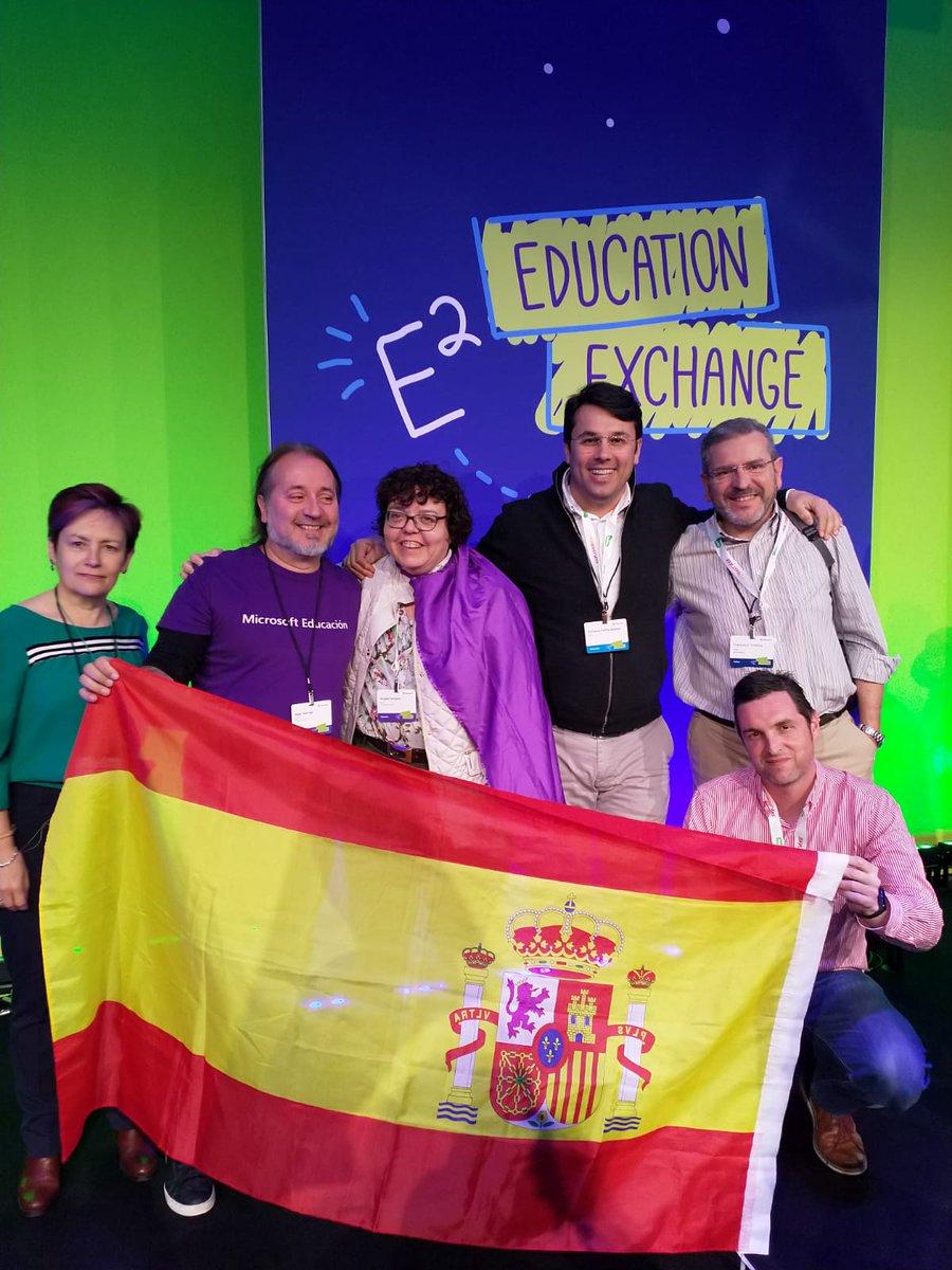 Viviendo el E2 desde dentro. Compartiendo actividades y experiencias con profesores innovadores de todo el mundo. Una oportunidad para mostrar el trabajo del @SanAgustin_VA @MicrosoftEduEsp @QuiqueCelma @Angelssoriano74 @fcotexeira #SanAgustín_VA