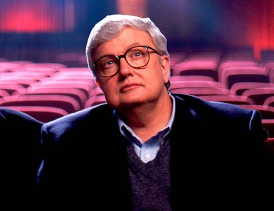 """""""Empathy is the most essential quality of civilization .. And for me, the movies are like a machine that generates empathy. .. It helps us to identify with the people who are sharing this journey with us.""""   - Roger Ebert, passed away six years ago, today.   #RIP"""