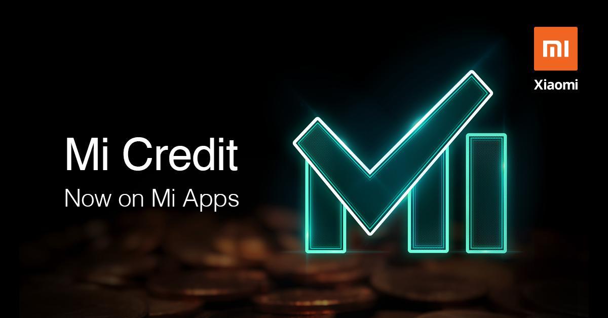 Mi Credit Xiaomi