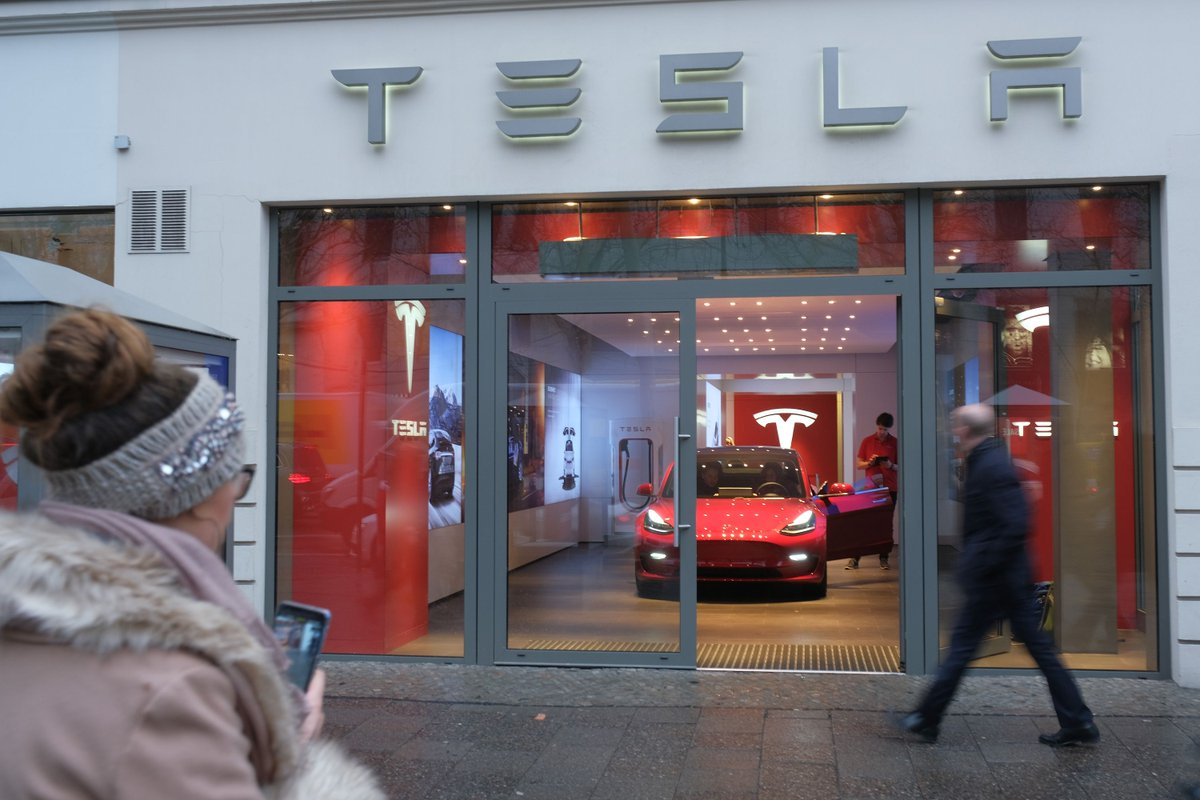 Teslas are selling well, if you consider them luxury cars