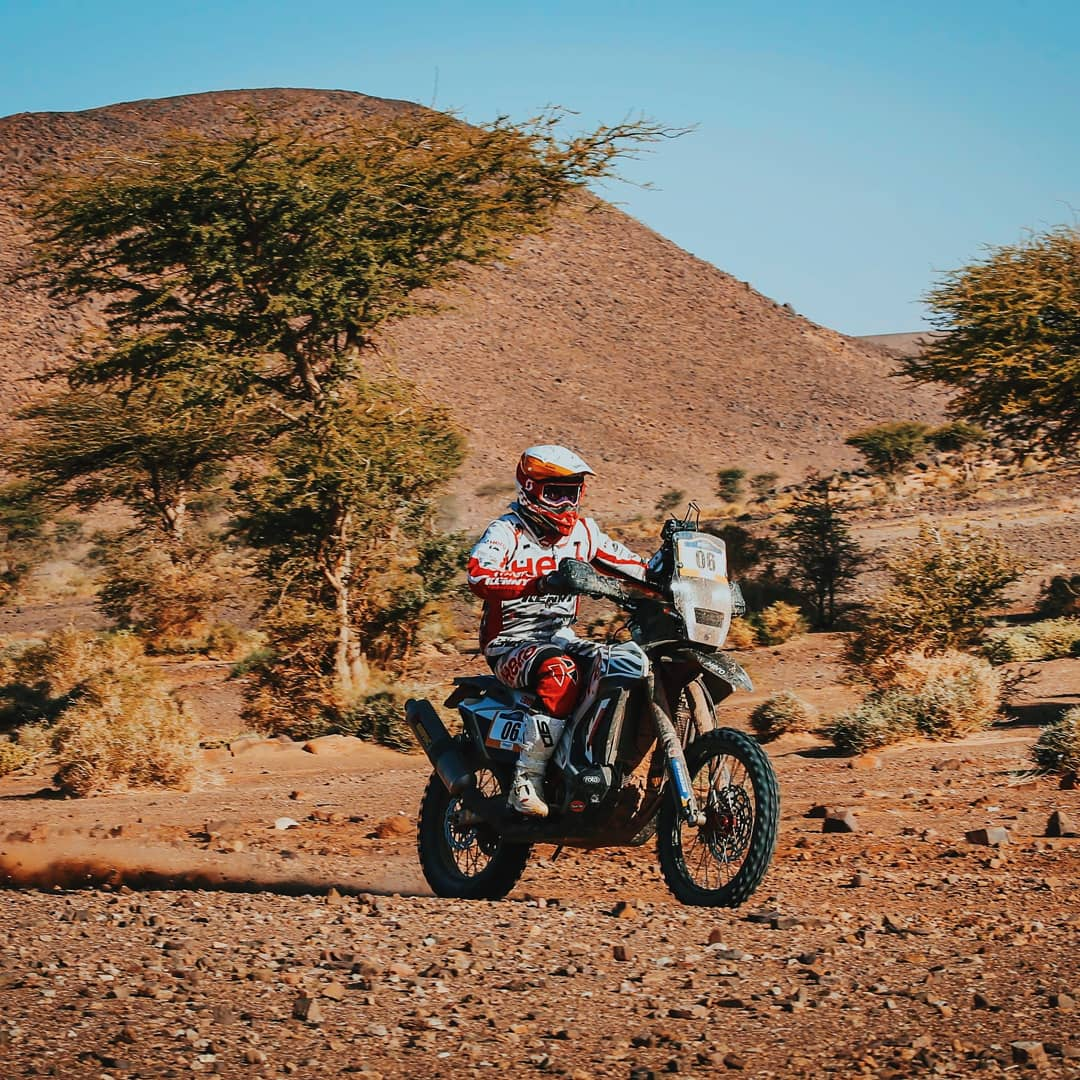 Oriol Mena finished the stage in 6th position, while JRod closed the stage in 11th position. With just one more stage to go, Mena retains his place in the top 3 with a 3rd place while JRod stands at 4th place in the provisional overall rankings. #Merzouga2019 #RaceTheLimits<br>http://pic.twitter.com/oMBhqtBXOr