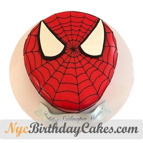 Amazing Nyc Birthday Cakes On Twitter Perfect Cake For A Spiderman Fan Birthday Cards Printable Benkemecafe Filternl