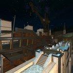 Image for the Tweet beginning: 造船廠で建造中のヴィクトリー号?と 遠くに灯台も見えたヨ  #DoF写真部