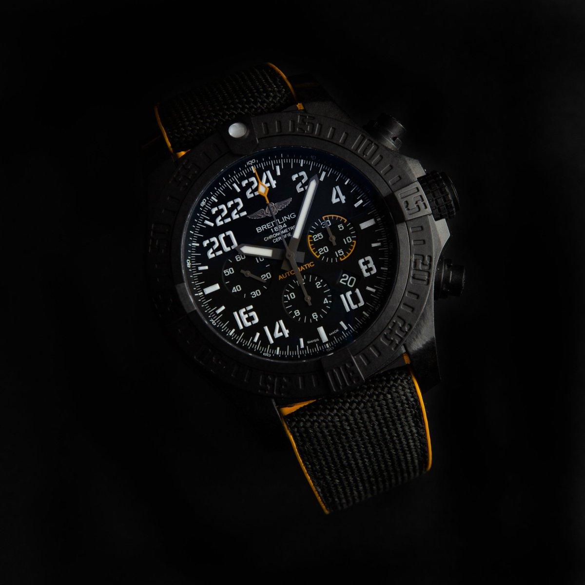 The #Breitling Avenger Hurricane 45 Breitlight XB0180E4/BF31.  Shop -> http://bit.ly/2UdqLFj  Follow @WatchBox_Global for more!  #WatchBox #BreitlingWatches #avenger #breitlingavenger #WatchFam #MarvelComicspic.twitter.com/PFmoIcUqtw
