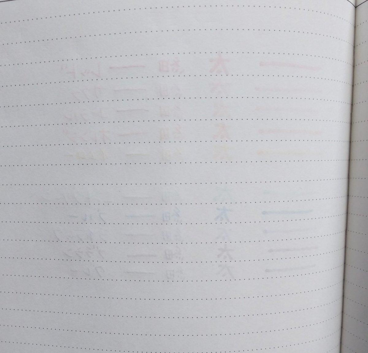 test ツイッターメディア - 裏抜け感こんなかんじ #DAISO #ツーウェイサインペン #Edit #Edit手帳 https://t.co/kgZKWaew6n