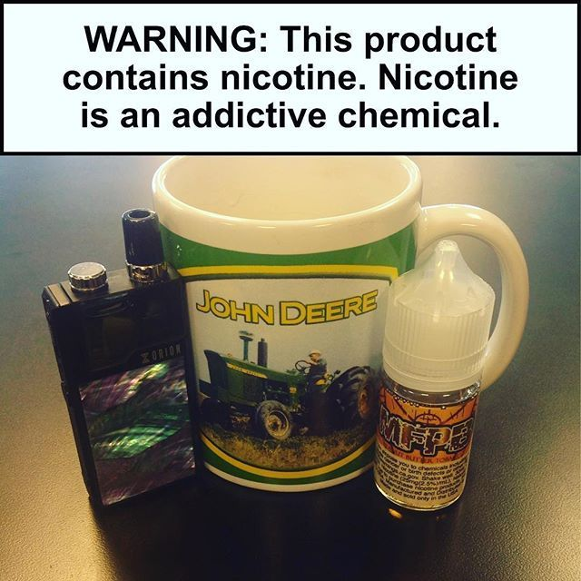 Start your day off right with your boys at Cincy vapors! #lostvapeorion #vapergate #vapergatesalts #mfpb #johndeere #mtlvaping #mtlvapers#vapeon https://t.co/R9pNFOMoZo https://t.co/2oZ05X4Dmh