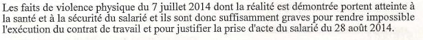 Depuis mon article, un Conseil des prud'hommes a reconnu que des violences (décrites dans l'article) avaient bien eu lieu au Pavillon Ledoyen. Voici un extrait de la décision ⬇️ https://t.co/dOQ5rzu70K