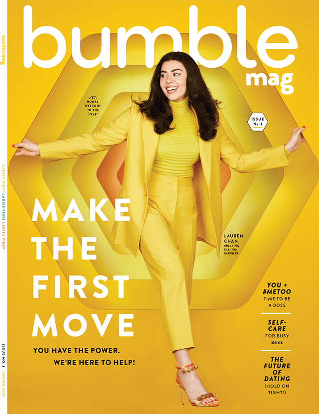 .@bumble is the latest challenger brand getting into the publishing business, and its debut issue features none other than entrepreneur, model and real Bumble user @lcchan: https://adweek.it/2TWzMOM