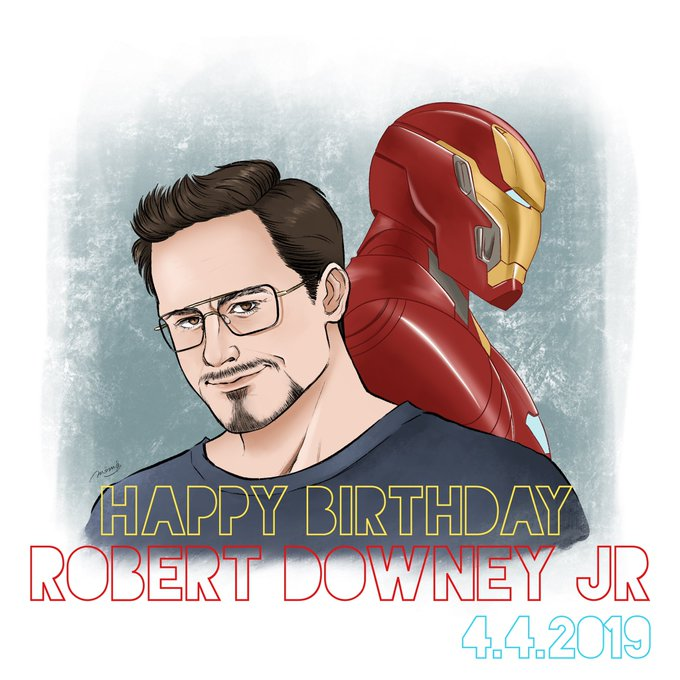 Happy Birthday Robert downey jr