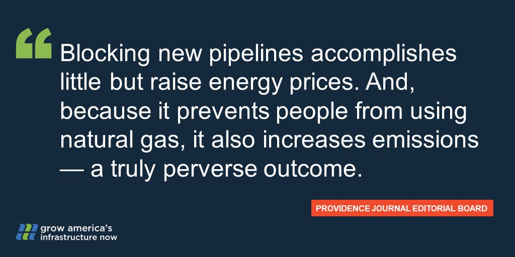 .@projo Editorial Board: 'New England's pipeline infrastructure is woefully inadequate' bit.ly/2UhOEfC