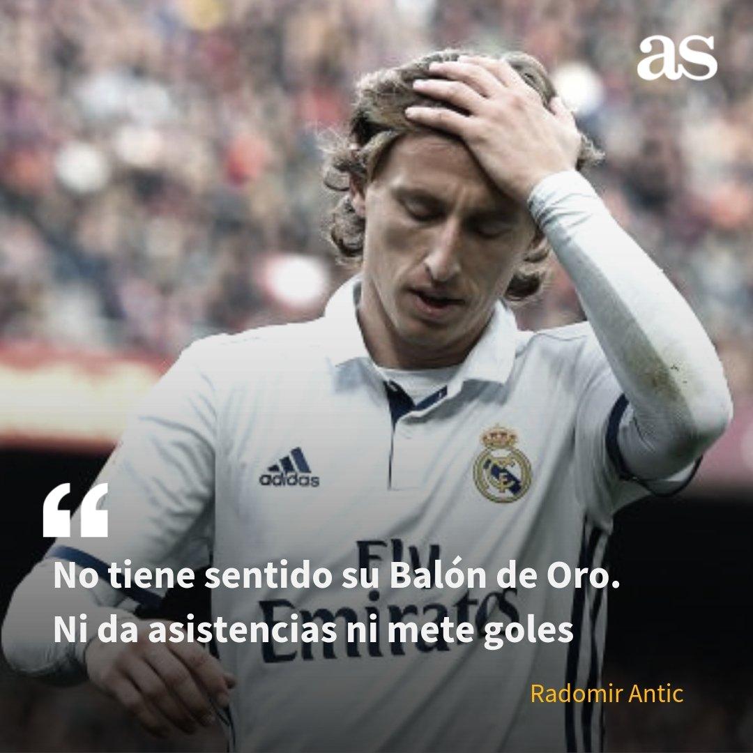 🔥 Antic no entiende el Balón de Oro de Modric 🤔 ¿Estás de acuerdo? 🔁 RT, Sí ❤️ FAV, No