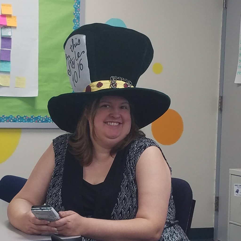 Today is National School Librarian Day, and at OJH, we're blessed to have the best! a true partner to all content teachers, no matter the http://topic.Ms. Wagnon, and are thankful for all you do for us and for our students! #pantherpride #eyesonexcellence #ousleyforever