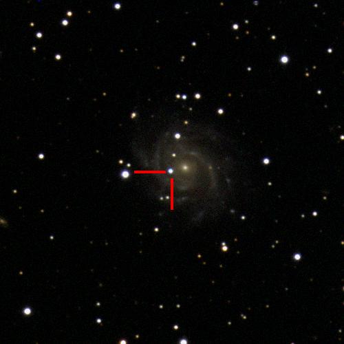 The Type IIn supernova 2019bwb in ESO264-G041, 280 million light years away. #ucsctransients #swopetelescope