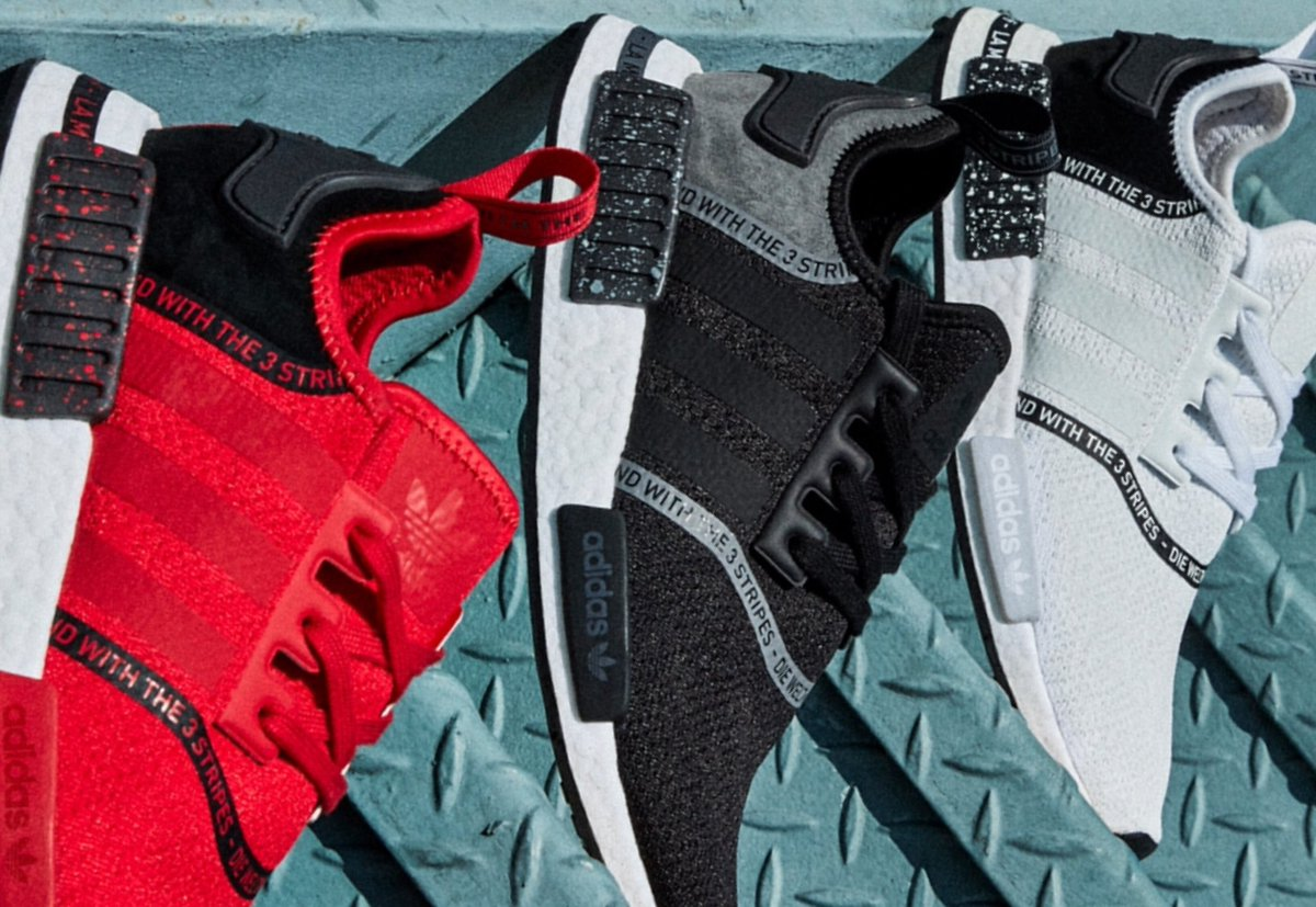 3ef46a2c4 the latest adidasoriginals flavors nmd taping is now in mens and kids sizes  weknowgame