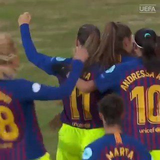On this day last year (part 2)⏪  This @liekemartens1 goal confirmed @FCBfemeni in the #UWCL last four⚽➡