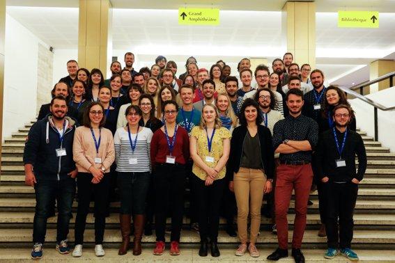 Ils sont venus de toute la France et sont prêts pour la demi finale nationale 2019 de Ma thèse en 180 secondes 🎉 #MT180 @CPUniversite @CNRS