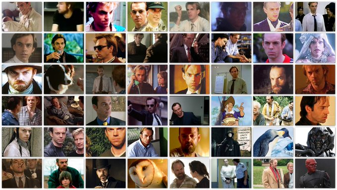 Happy 59th birthday to the Modern Man of 1000 Faces, Hugo Weaving!