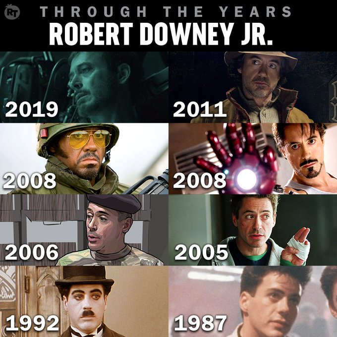 Happy birthday to the Iron Man, Robert Downey Jr!