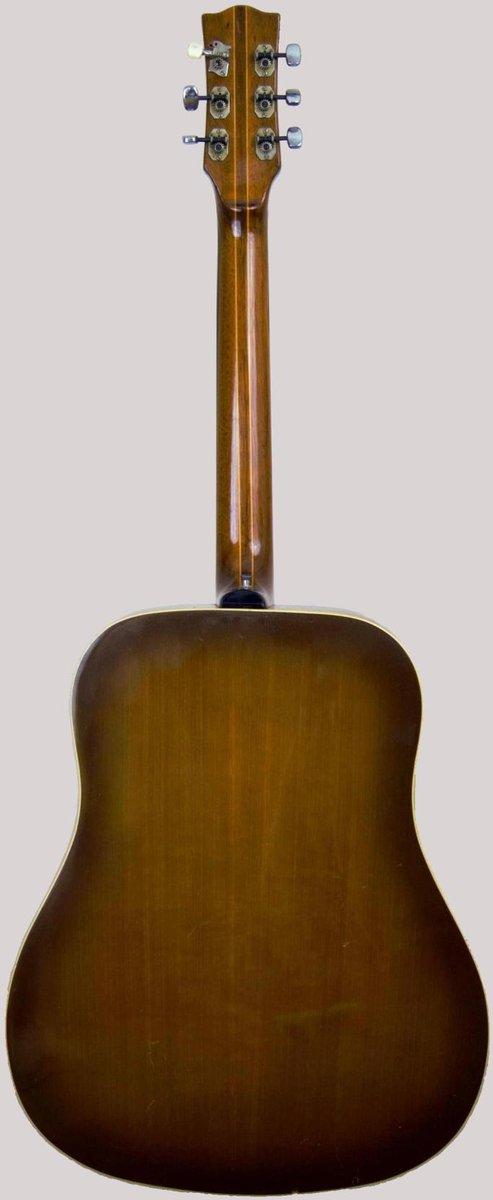 eko dakota 606 italian 1960s jumbo guitar