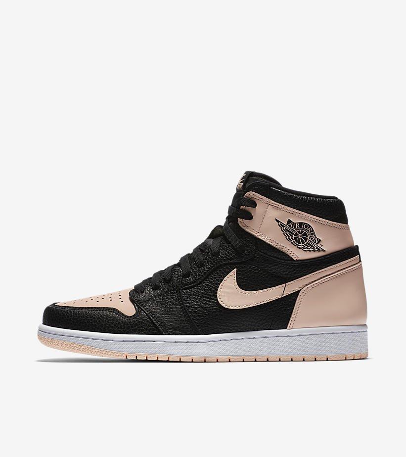 f36ba4f253eea4 Ad  Air Jordan 1 Retro High OG  Black Hyper Pink  releasing via