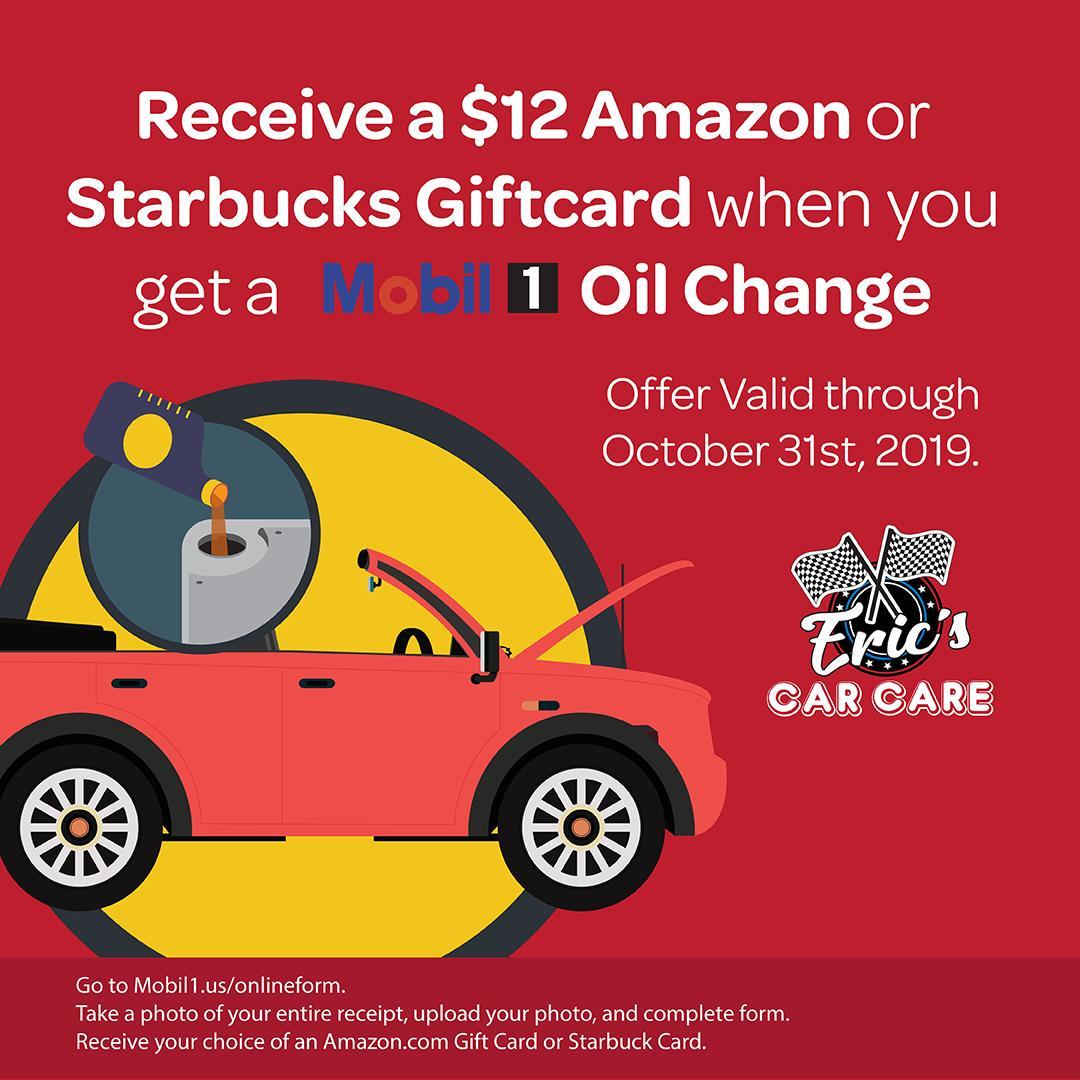 Mobil1 Us Onlineform >> Eric S Car Care Ericscarcare ট ইট র