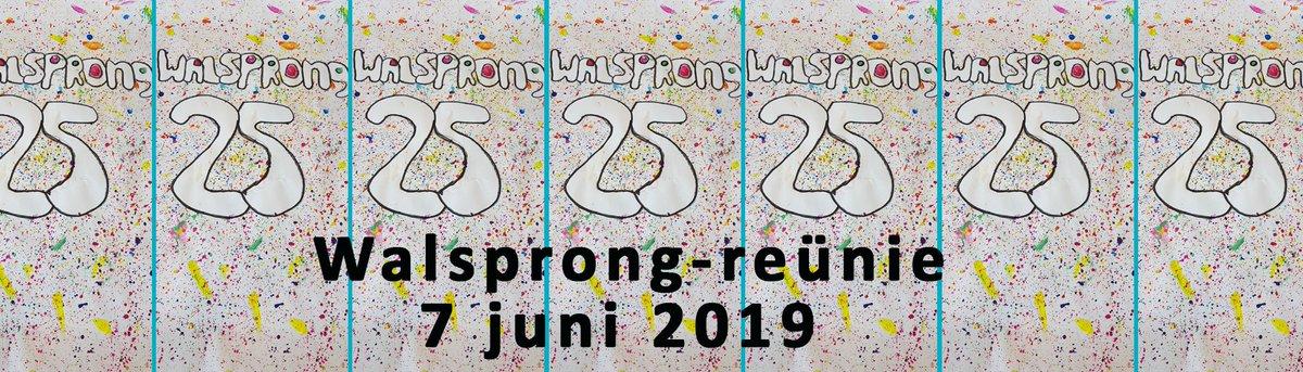 test Twitter Media - @Walsprong organiseert op 7 juni 2019 een reünie voor oud-leerlingen/werknemers i.v.m. het 25-jarig jubileum. Aanmelden voor 12 mei a.s. Graag zoveel mogelijk delen: https://t.co/Vk9tJhi1qL https://t.co/a7kOxVyPOa