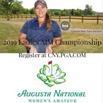 Image for the Tweet beginning: The Inaugural Augusta National Women's