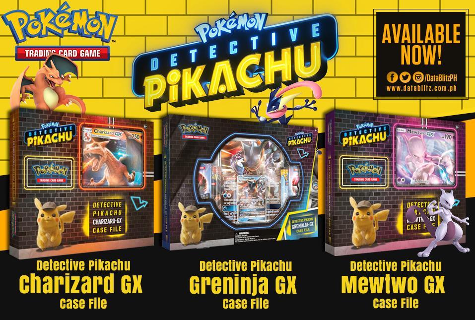 Datablitz On Twitter Pokemon Tcg Detective Pikachu Gx Case File