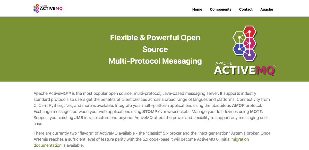 Apache ActiveMQ (@ApacheActiveMQ) | Twitter