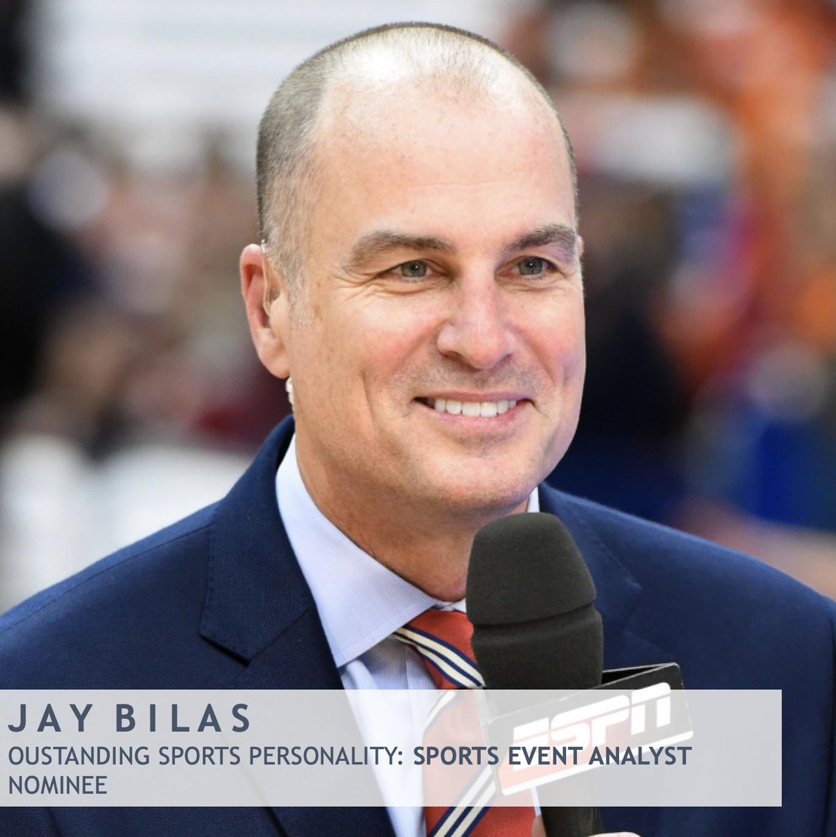 Congrats @JayBilas on the 40th Annual #SportsEmmy Awards nomination as Outstanding Sports Personality in the Sports Event Analyst category! #MontagGroup @espn