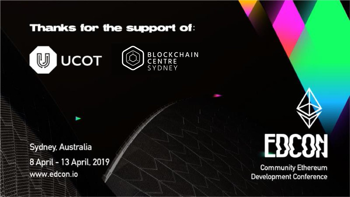 We are proudly supporting #EDCON 2019. For further details please check below.