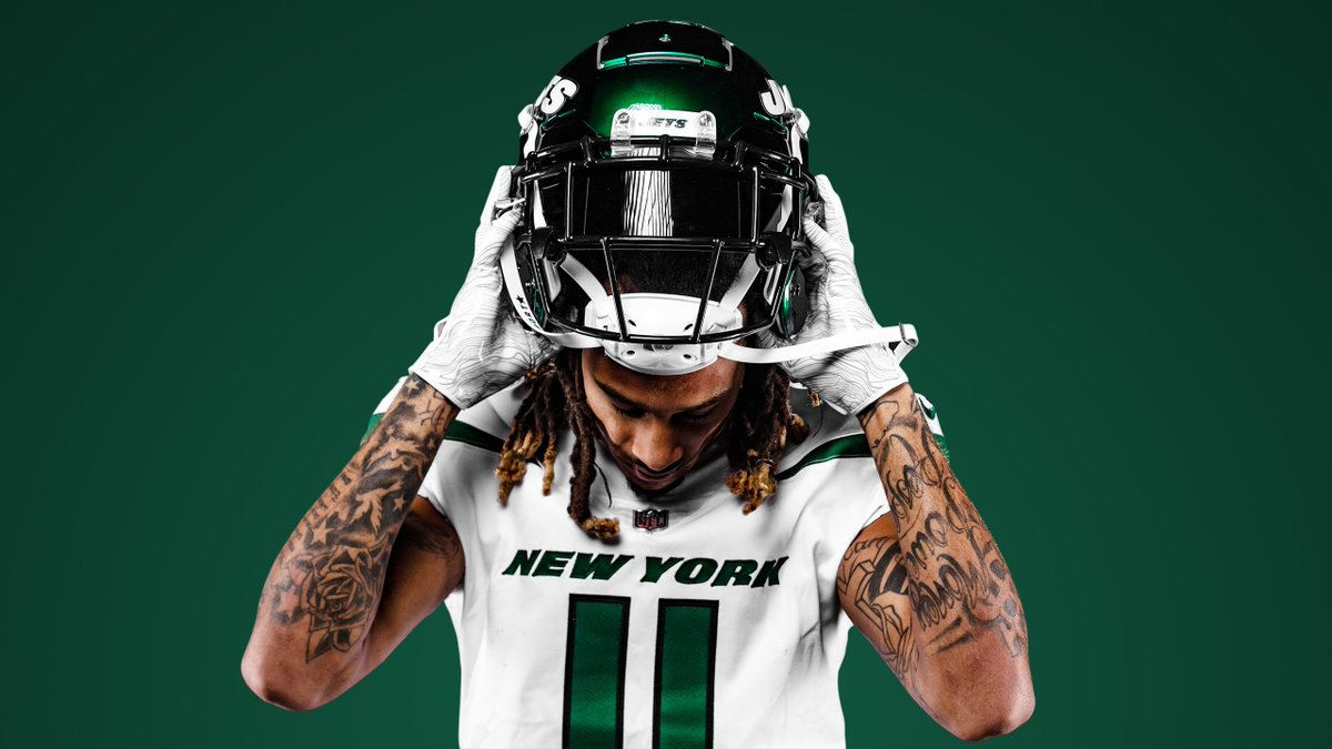 newest f264b 5032a New York Jets unveil new jerseys for the 2019 season