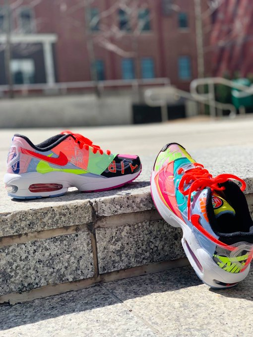 aaaa6b52 Limited-quantity ATMOS X NIKE AIR MAX 2 LIGHT drop April 5th online & in  store! In-store purchase avail by raffle at select #nordstromxnike  locations.