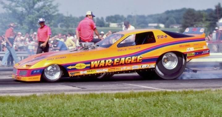 This week, we go back to the Springnationals and Dale Pulde with his beautiful War Eagle Funny Car!  #nationaltrailraceway #ohiodragracing #throwbackthursday #funnycar #nitro #nitrofunnycar #nhrahistory #ohiodragracinghistory