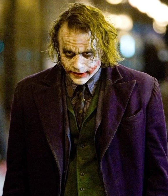 Happy Birthday Heath Ledger would\ve been 40 years old. You will always be my favorite Joker R.I.P