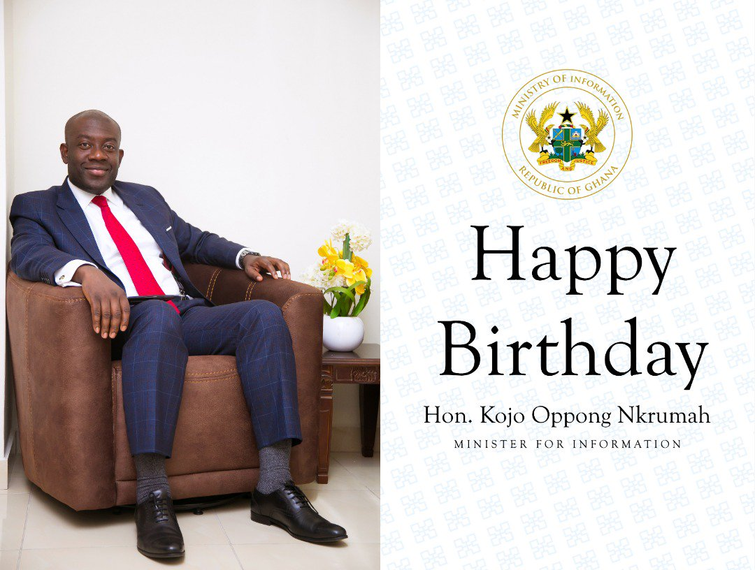 Happy birthday @konkrumah.  May God continue to bless you with wisdom and good health to continue the good work you are doing for mother Ghana.