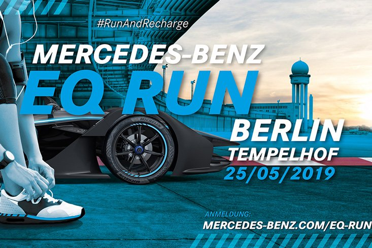 #EQRun: @MercedesEQFE organiza una carrera benéfica en Berlín - https://bit.ly/2YRTD5F #FormulaE #BerlinEPrix #Laureus