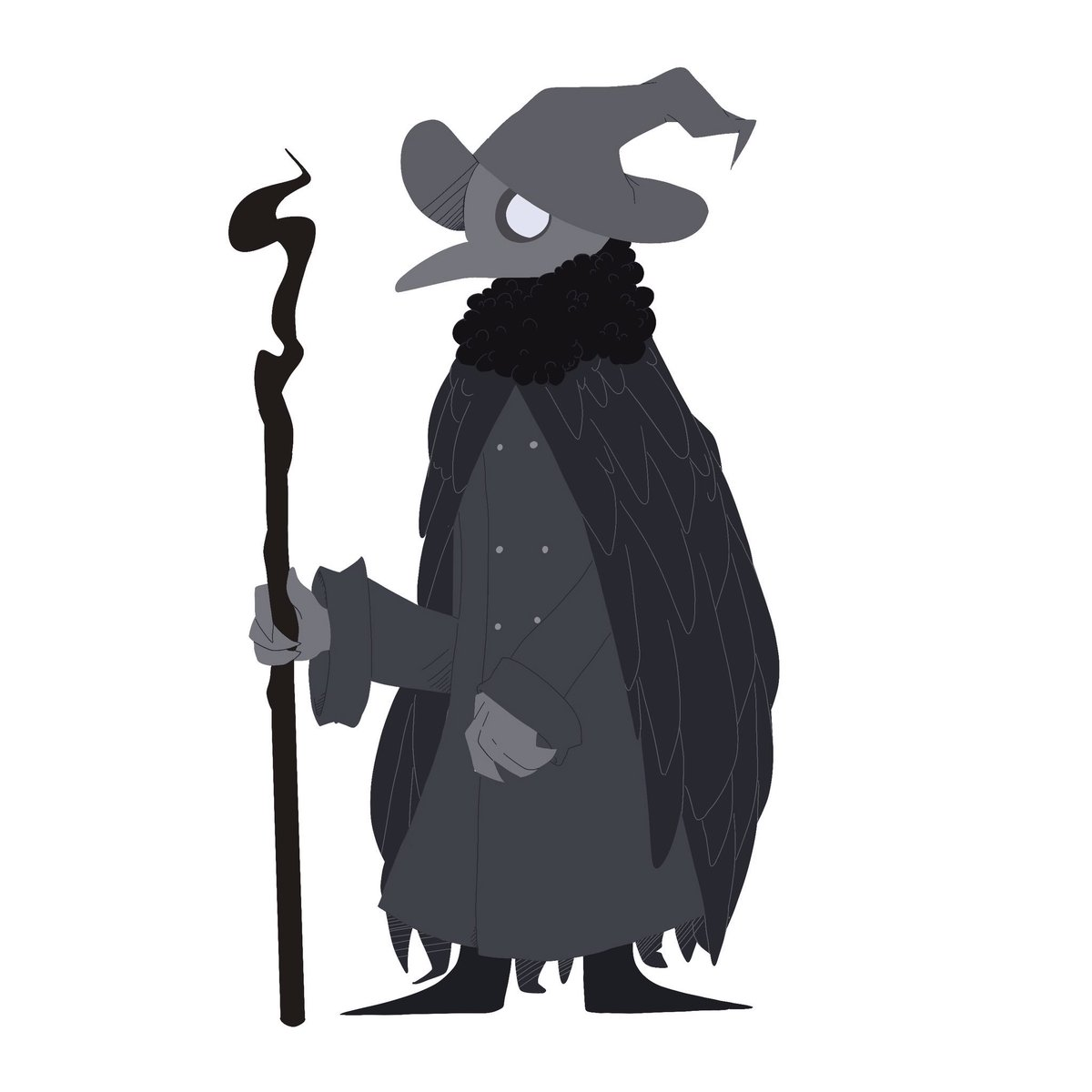 Have My Kenku Plaguedoctor Boi And A Chibi Version Of Him Uwu