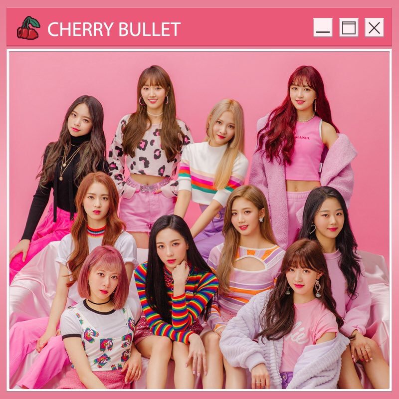 🍒Cherry Bullet Cherry Gun LIGHT OPEN🍒 FNC STORE @ Tweet added by
