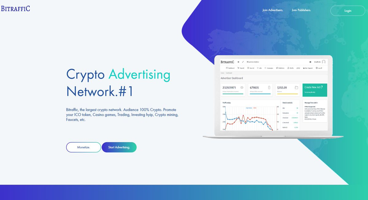 monetize website with cryptocurrency