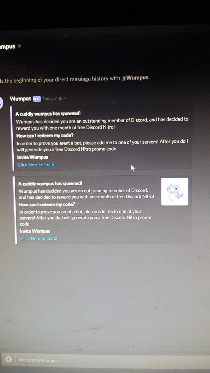 Discord free nitro servers